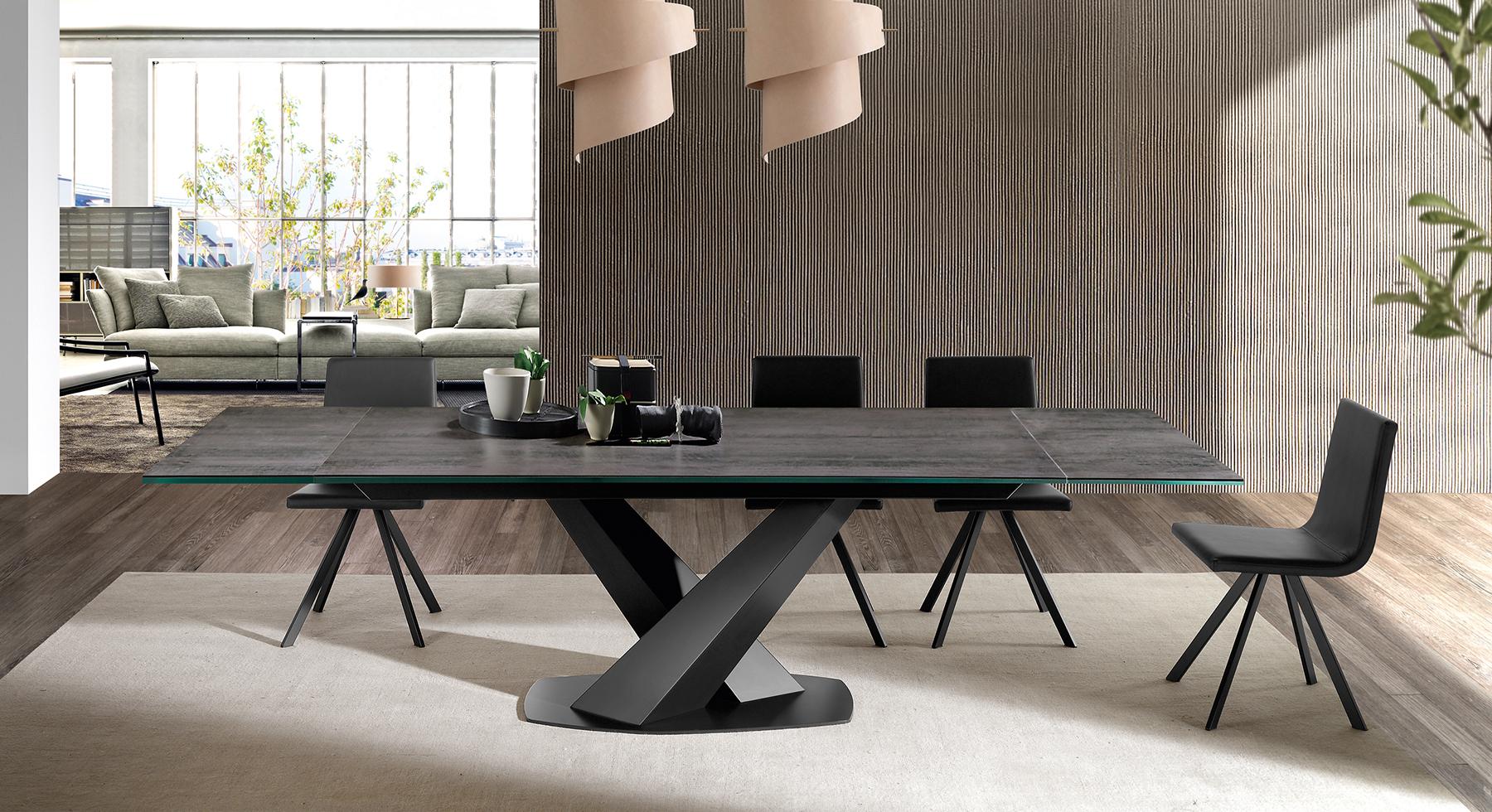 Ramiro tarazona mesas de comedor mesas centro sillas y for Mesas de comedor cuadradas de diseno